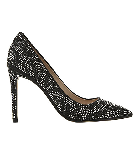Steve Madden Studded Courts In Silver-diamantes