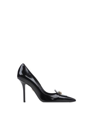 Roger Vivier Miss Chain Black Leather Pump