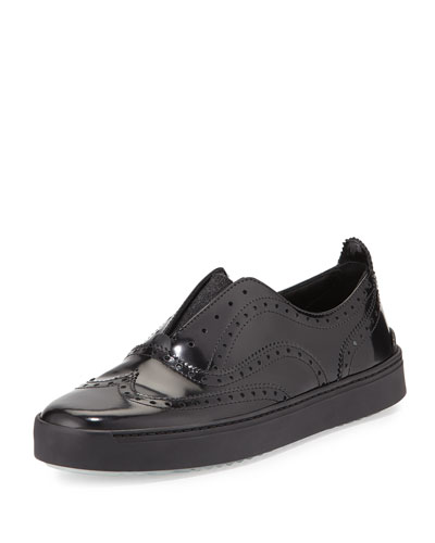 Rag & Bone Meli Oxford Slip-on Sneaker, Black