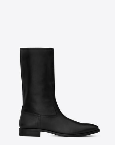 dcac1f674e Matt 25 Boot In Black Leather