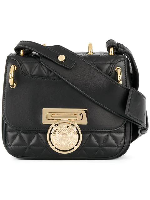 1ff7e5c90a Balmain Renaissance 18 Glove Black Leather Small Shoulder Bag   ModeSens