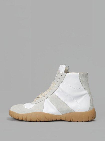 68e92f6954a Tabi Replica White Leather Sneakers