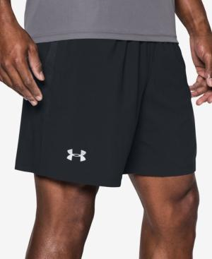 "Under Armour Men's Launch 7"" Running Shorts In Black"