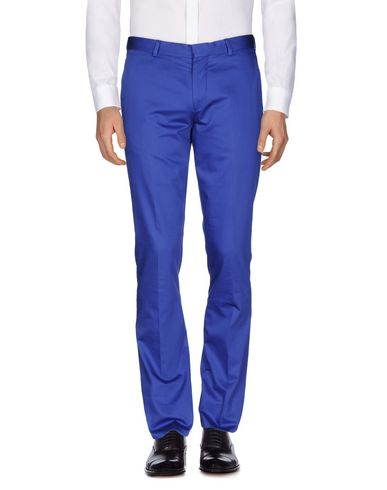 Ps By Paul Smith Casual Pants In Bright Blue
