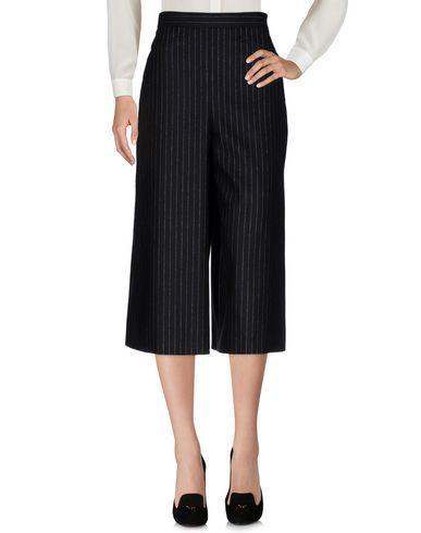 Saint Laurent Cropped Pants & Culottes In Black
