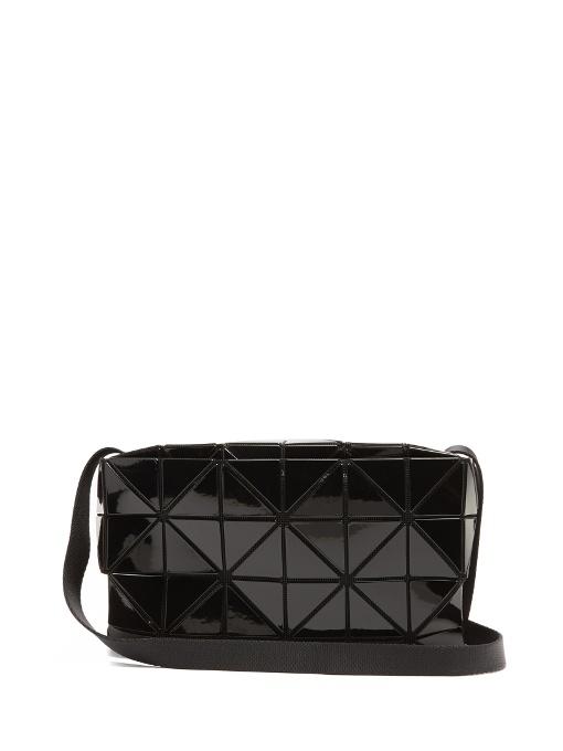 Bao Bao Issey Miyake Carton Gloss Cross-Body Bag In Black  f50a14fecc8de