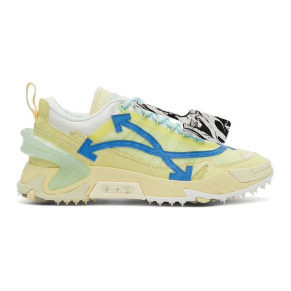 Off-white Odsy-2000 Sneakers In Beige Blue