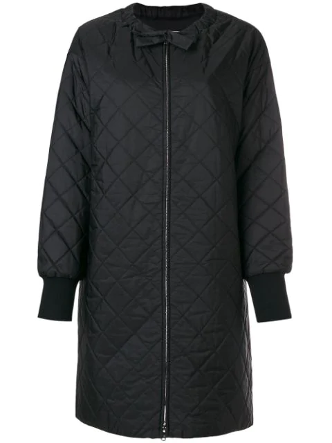 f0166ac8e4 Quilted Shell Down Jacket in Black