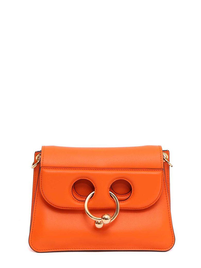 Jw Anderson Mini Pierce Shoulder Bag In Tangerine