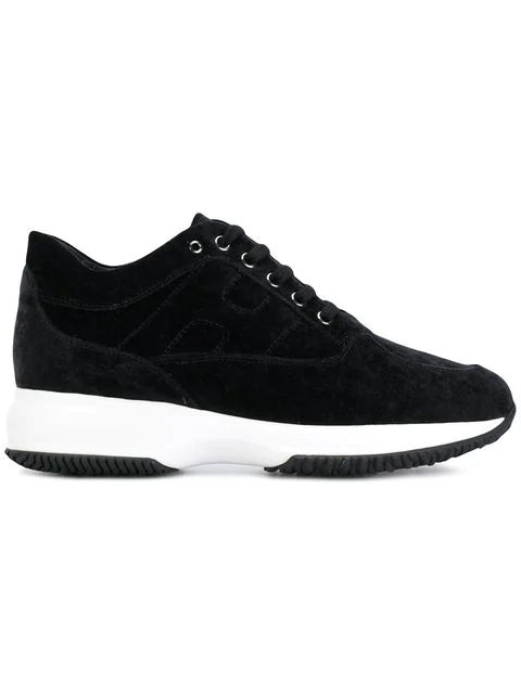 Hogan Women's Shoes Trainers Sneakers  Interactive In Black