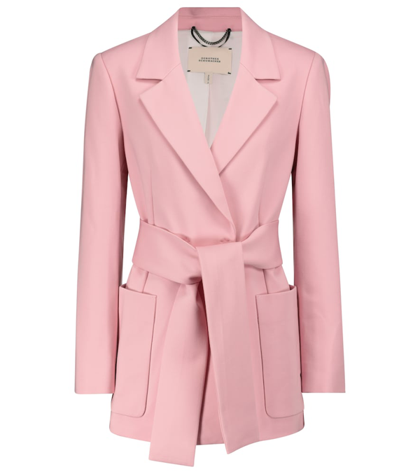Dorothee Schumacher Exclusive To Mytheresa - Emotional Essence Blazer In Pink