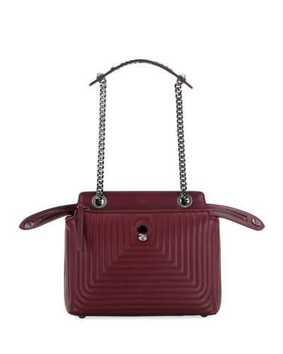 9aec973a1463 Fendi Dotcom Click Quilted Leather Satchel - Red In Nocolor