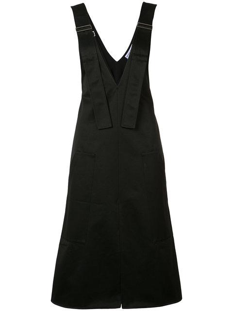 Wanda Nylon Shirley Suspender Dress In Black