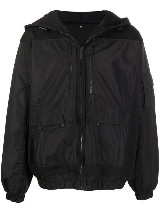 Mcq By Alexander Mcqueen Men's 611316rpt811000 Black Polyester Outerwear Jacket