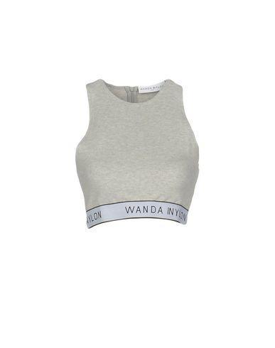 Wanda Nylon Tank Top In Grey