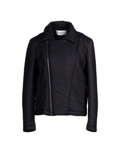 Wanda Nylon Jacket In Black
