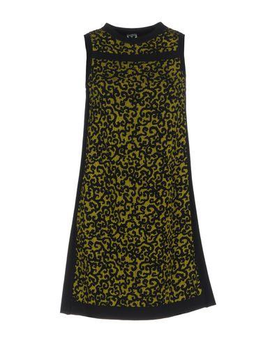M Missoni Short Dresses In Acid Green