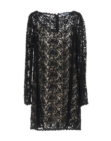 Blumarine Short Dress In Black