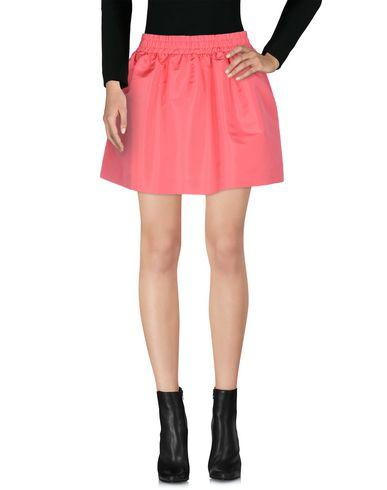 Red Valentino Mini Skirt In Coral