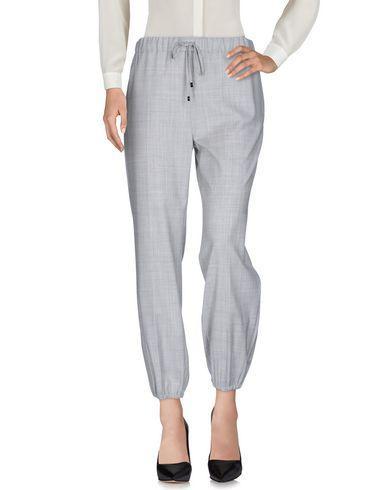 Max Mara Casual Pants In Grey