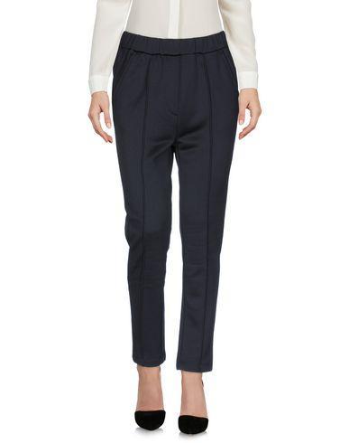 Wood Wood Casual Pants In Dark Blue