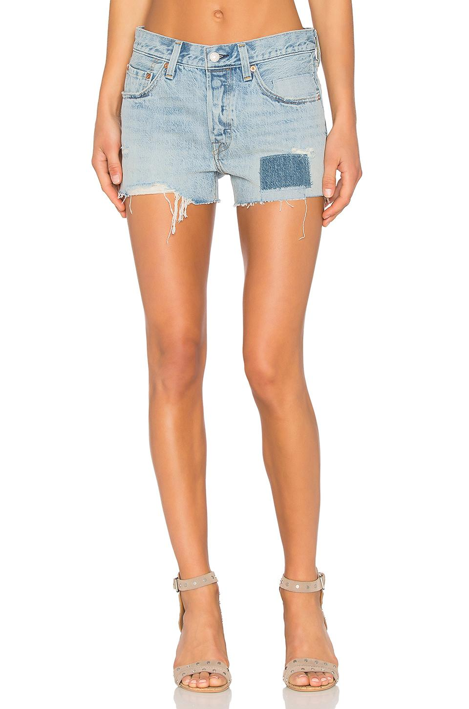 Levi's 501 Cutoff Shorts In Don'T Hold Back