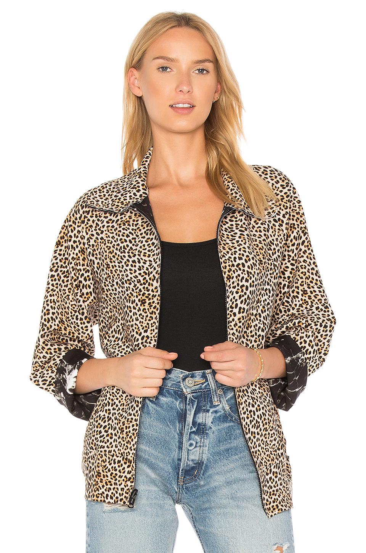 Norma Kamali Reversible Leopard-Print Bomber Jacket In LÉOpard