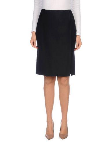 Barena Venezia Knee Length Skirt In Dark Blue