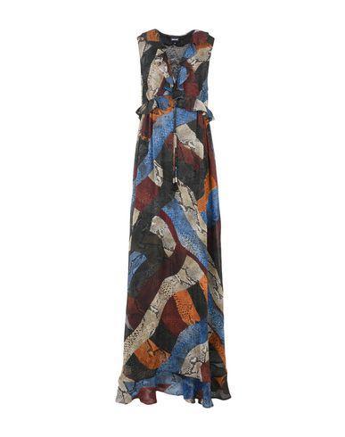 Just Cavalli Long Dress In Pastel Blue