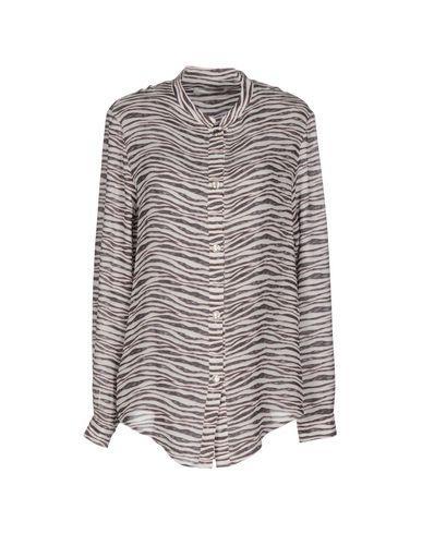 Pierre Balmain Patterned Shirts & Blouses In Dark Brown