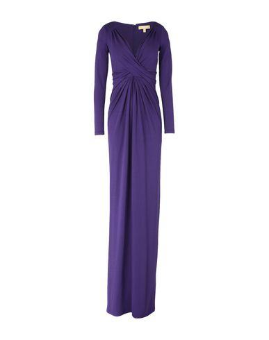 Michael Kors Long Dresses In Purple