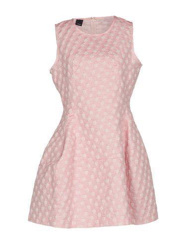 Pinko Short Dresses In Fuchsia