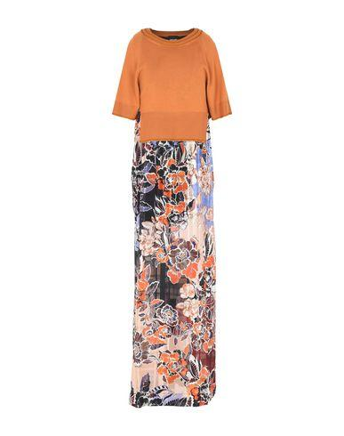 Just Cavalli Long Dresses In Orange