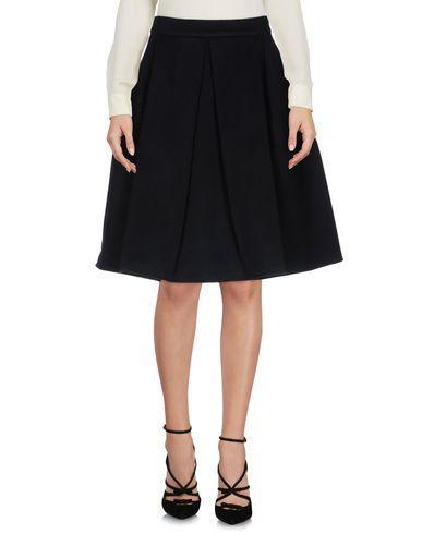 Ermanno Scervino Knee Length Skirt In Dark Blue