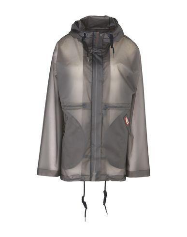 Hunter Full-Length Jacket In Grey