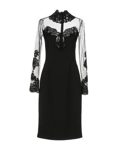 Ermanno Scervino Evening Dress In Black