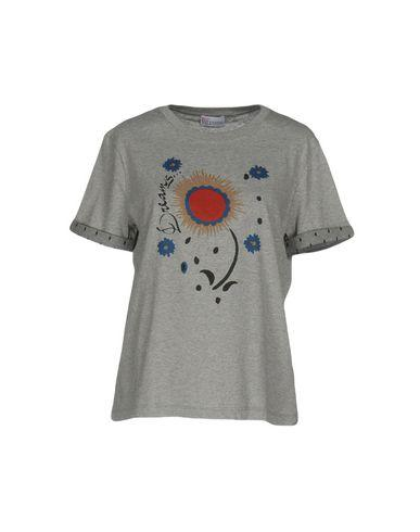 Red Valentino T-Shirts In Grey