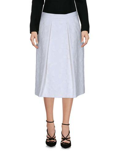 Michael Michael Kors Knee Length Skirts In White