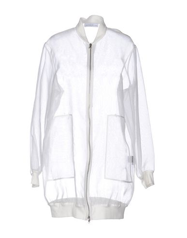 Wanda Nylon Overcoats In White