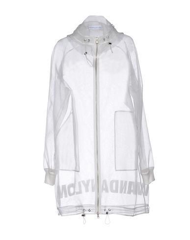 Wanda Nylon Full-Length Jacket In White