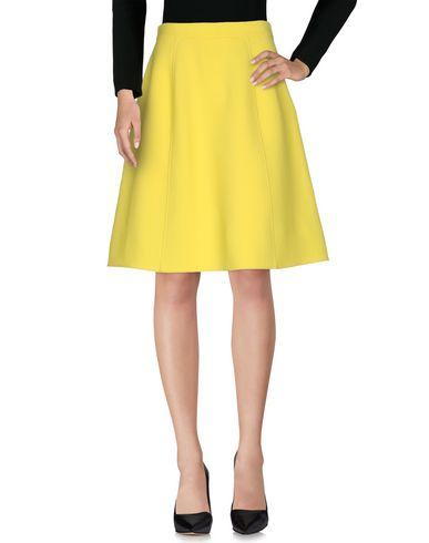 Ermanno Scervino Knee Length Skirt In Yellow