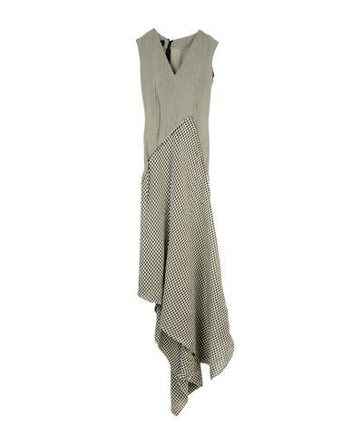 Yang Li 3/4 Length Dress In Black