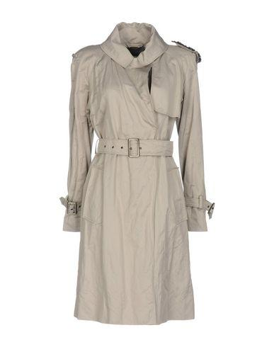 Alberta Ferretti Overcoats In Grey
