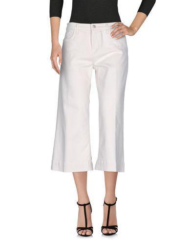 J Brand Denim Pants In Ivory