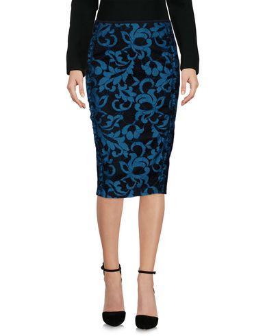 Pinko Knee Length Skirt In Deep Jade