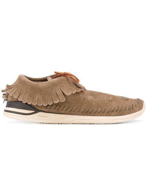 Visvim Maliseet Shaman Folk Loafers - Brown
