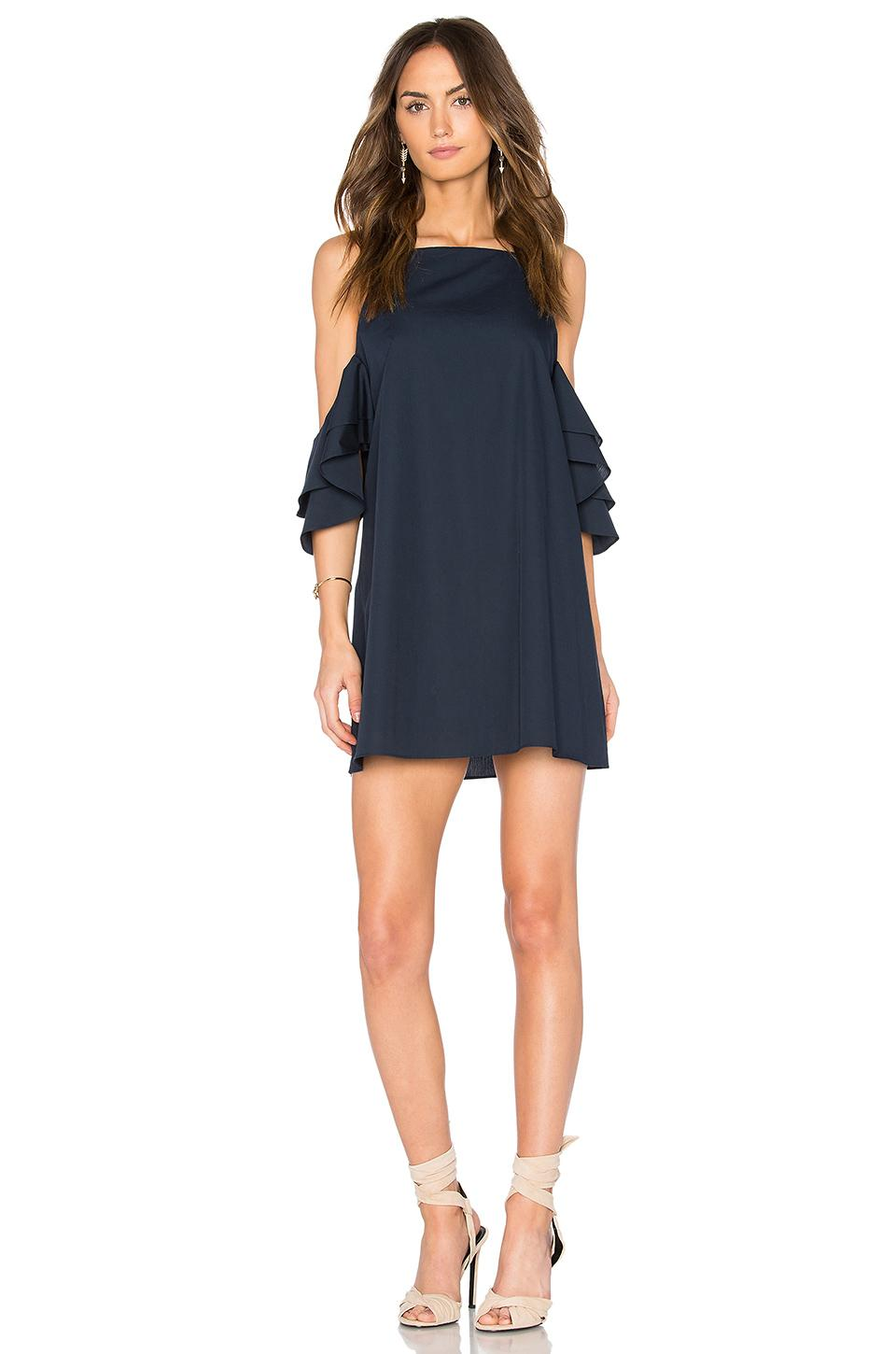 Amanda Uprichard Catalina Dress In Navy