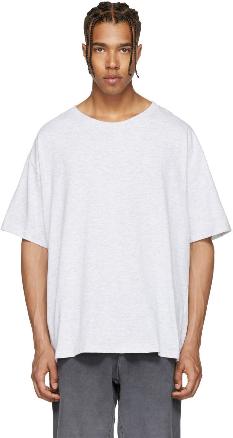 Yeezy Regular Crew Neck Cotton T-Shirt