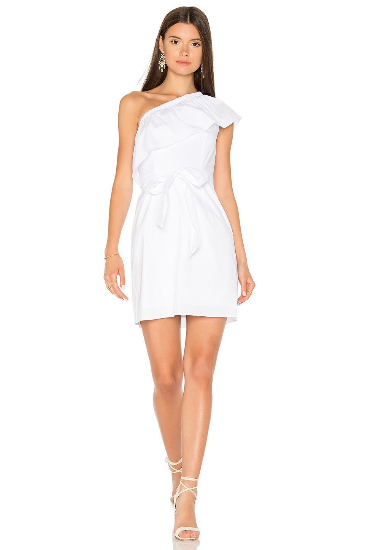 Milly Tara Dress In White