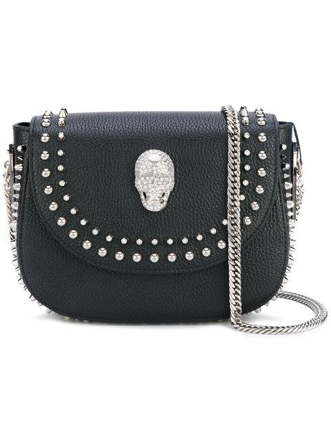 Philipp Plein Surya Shoulder Bag In Black